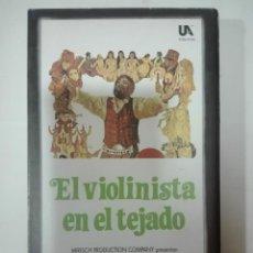 Cine: VHS PELICULA EL VIOLINISTA EN EL TEJADO FIDDLER ON THE ROOF OSCARS DE HOLLYWOOD Nº 16 1971 - 1989. Lote 210443388