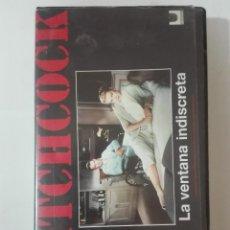 Cine: VHS PELICULA LA VENTANA INDISCRETA DE ALFRED HITCHCOCK NUEVA PRECINTADA SIN ABRIR Nº3 1992. Lote 210446258