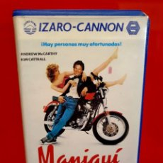 Cine: MANIQUI (1987) - ANDREW MCCARTHY, KIM CATTRALL, JAMES SPADER. Lote 210523117