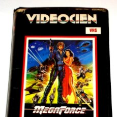 Cine: MEGAFORCE (1982) - HAL NEEDHAM BARRY BOSTWICK MICHAEL BECK PESIS KHAMBATTHA VHS. Lote 210528997