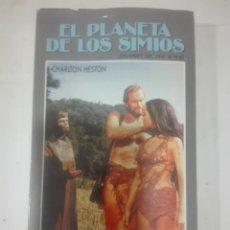 Cine: VHS LA PELICULA EL PLANETA DE LOS SIMIOS - CBS FOX GRANDES DEL CINE. Lote 210639196
