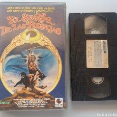 Cine: VHS - EL SEÑOR DE LAS BESTIAS. Lote 210963966