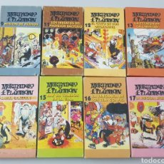 Cine: LOTE 8 VHS MORTADELO Y FILEMON - DIBUJOS. Lote 210978995