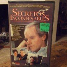 Cine: SECRETOS INCONFESABLES - MICHAEL PRESSMAN - KELLY MC GILLIS , MIKE FARRELL - RECORD. Lote 210980865