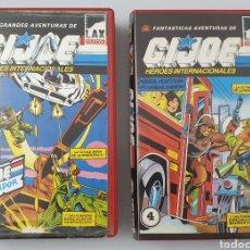 Cine: LOTE 2 VHS G.I. JOE VOL.3 Y 4. Lote 210982657