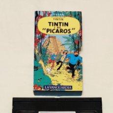 Cine: PELÍCULA CINTA VHS TINTÍN. TINTÍN I ELS PÍCAROS. LA VANGUARDIA. VOL 18. VMH. Lote 210982769