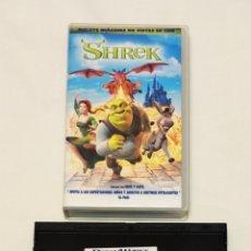 Cine: PELÍCULA CINTA VHS SHREK. DREAMWORKS. Lote 210983026