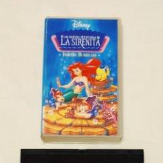 Cine: PELÍCULA CINTA VHS LAS NUEVE AVENTURAS DE LA SIRENITA. DOBLE BURBUJAS. DISNEY. Lote 210983075