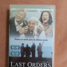Cine: LAST ORDERS - MICHAEL CAINE, BOB HOSKINS, HELEN MIRREN - VHS. Lote 211628321