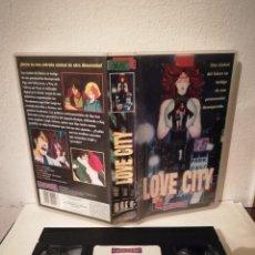 Cine: VHS ORIGINAL - LOVE CITY - ANIME MANGA. Lote 211628607