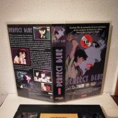 Cine: VHS ORIGINAL - PERFECT BLUE - ANIME MANGA. Lote 211628729