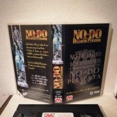 Cine: VHS ORIGINAL - NO-DO UNA HISTORIA PROXIMA - ESPAÑA- NOTICIARIO DOCUMENTALES CINEMATOGRAFICOS RTVE. Lote 211628767
