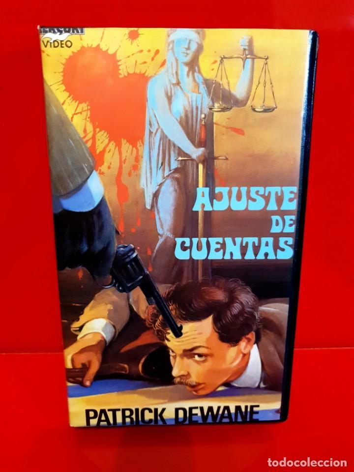 AJUSTE DE CUENTAS (1977) - LE JUGE FAYARD DIT LE SHÉRIFF - MUY ESCASA (Cine - Películas - VHS)