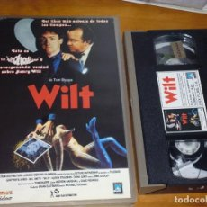 Cine: WILT - TOM SHARPE, GRIFF RHYS JONES, MEL SMITH - VHS. Lote 211839247