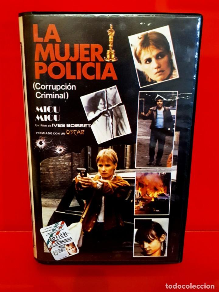 LA MUJER POLICÍA (1980) IVES BOISSET - MIOU MIOU - ÍCARO VÍDEO (Cine - Películas - VHS)