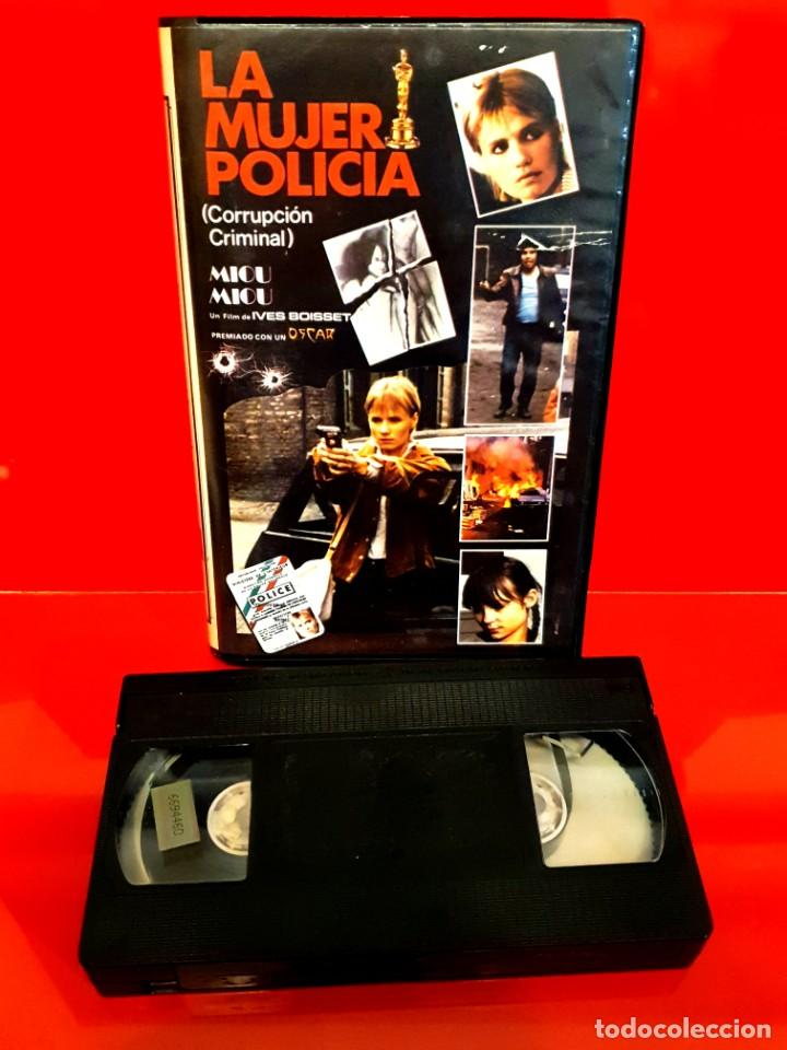 Cine: LA MUJER POLICÍA (1980) IVES BOISSET - MIOU MIOU - ÍCARO VÍDEO - Foto 3 - 211937618