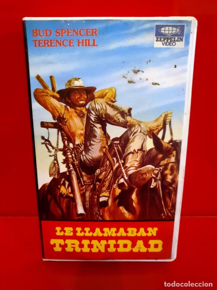 LE LLAMABAN TRINIDAD - DOBLAJE DISTINTO AL DE CINE Y AL DE FILMAYER (Cine - Películas - VHS)
