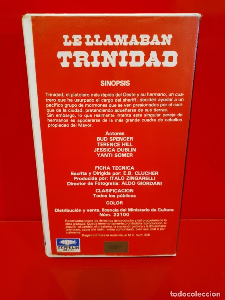 Cine: LE LLAMABAN TRINIDAD - DOBLAJE DISTINTO AL DE CINE Y AL DE FILMAYER - Foto 2 - 211937705