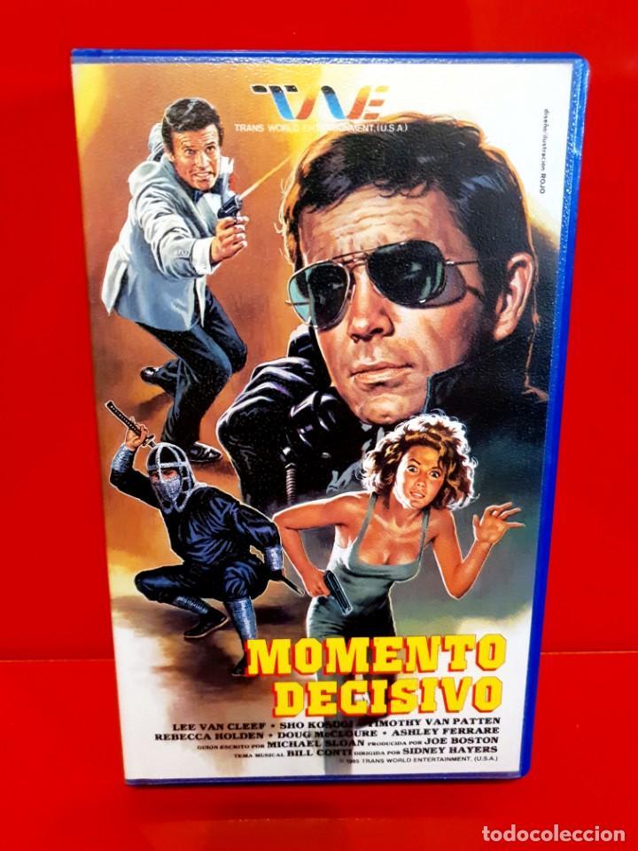 MOMENTO DECISIVO - LEE VAN CLEEF - VALFER VIDEO (Cine - Películas - VHS)