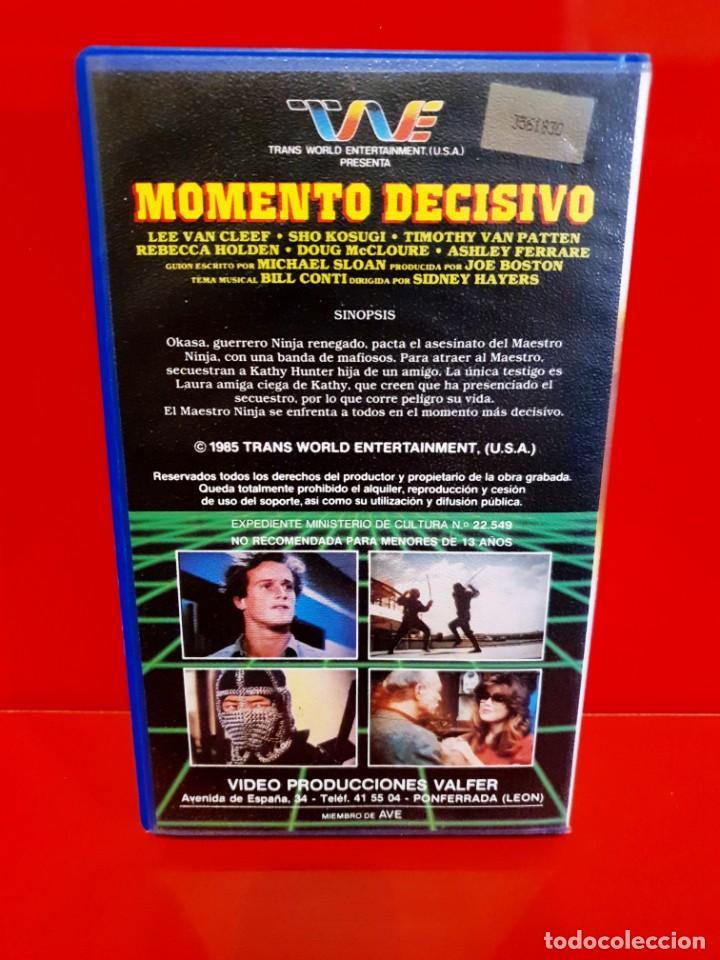Cine: MOMENTO DECISIVO - LEE VAN CLEEF - VALFER VIDEO - Foto 2 - 211937741