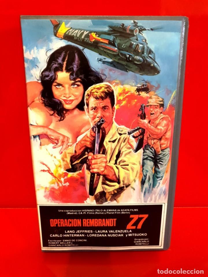OPERACION REMBRANDT Z7 (1966) (Cine - Películas - VHS)