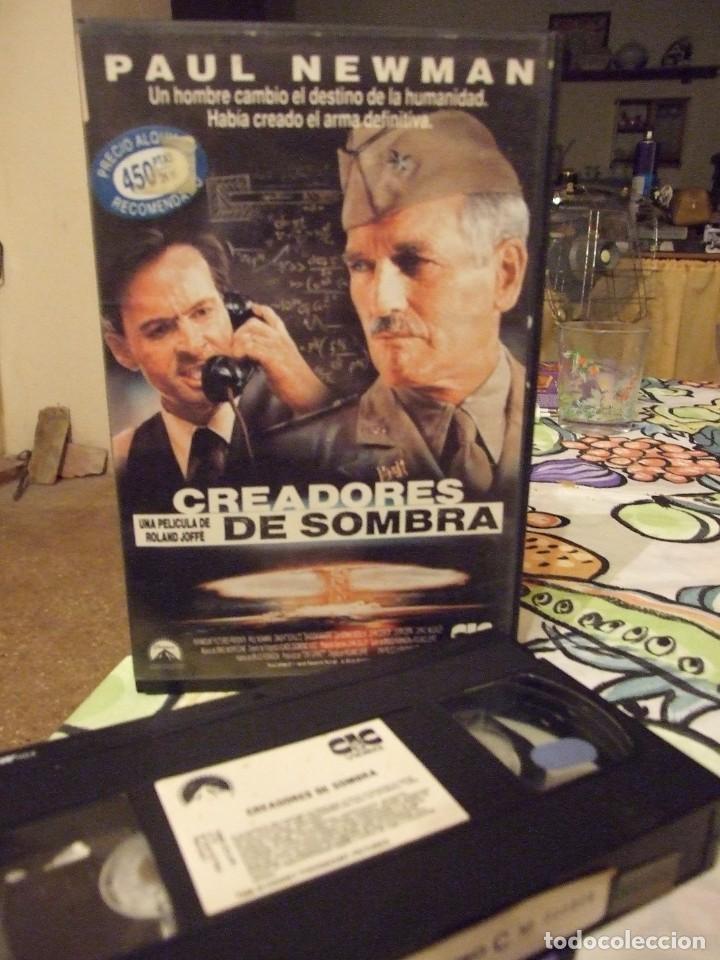 CREADORES DE SOMBRAS - ROLAND JOFFE - PAUL NEWMAN , JOHN CUSACK - CIC 1991 (Cine - Películas - VHS)