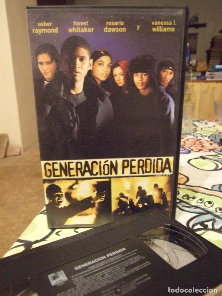 GENERACION PERDIDA - CRAIG BOLOTIN - USHER RAYMOND , FOREST WHITAKER - FOX 2000 (Cine - Películas - VHS)