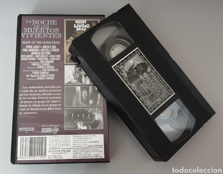 Cine: VHS - LA NOCHE DE LOS MUERTOS VIVIENTES - Suevia Films - Foto 2 - 211938963