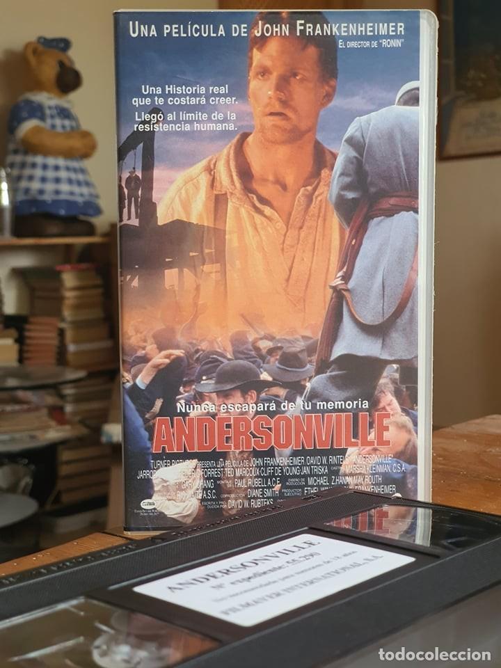 ANDERSONVILLE - JOHN FRANKENHEIMER - TED MARCOUX , FREDERIC FORREST - FILMAYER 1997 (Cine - Películas - VHS)