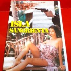 Cine: LA ISLA DE LA MUERTE (1984) - BAHÍA BLANCA, DE JESS FRANCO TERROR. Lote 212037997