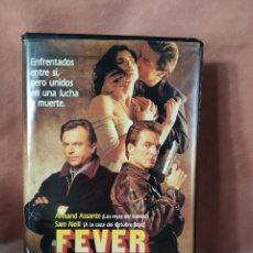 Cine: FEVER FIEBRE HOMICIDA - VHS - CAJA GRANDE. Lote 212619781