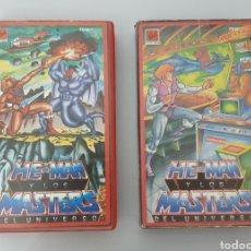Cine: VHS - LOTE HE-MAN Y LOS MASTERS DEL UNIVERSO VOL. 4 Y 18. Lote 107252751