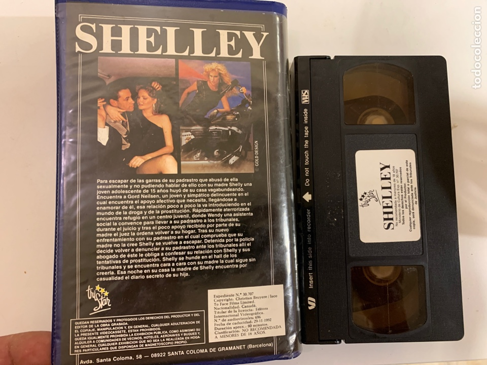 Cine: Shelley vhs única en tc - Foto 3 - 212737232