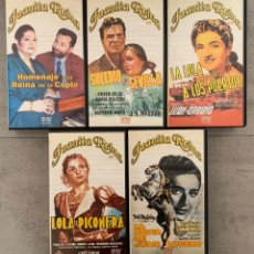 Cine: LOTE CINE ESPAÑOL - JUANITA REINA - COLECCION COMPLETA VHS - CINE CLASICO - COPLA. Lote 212767165