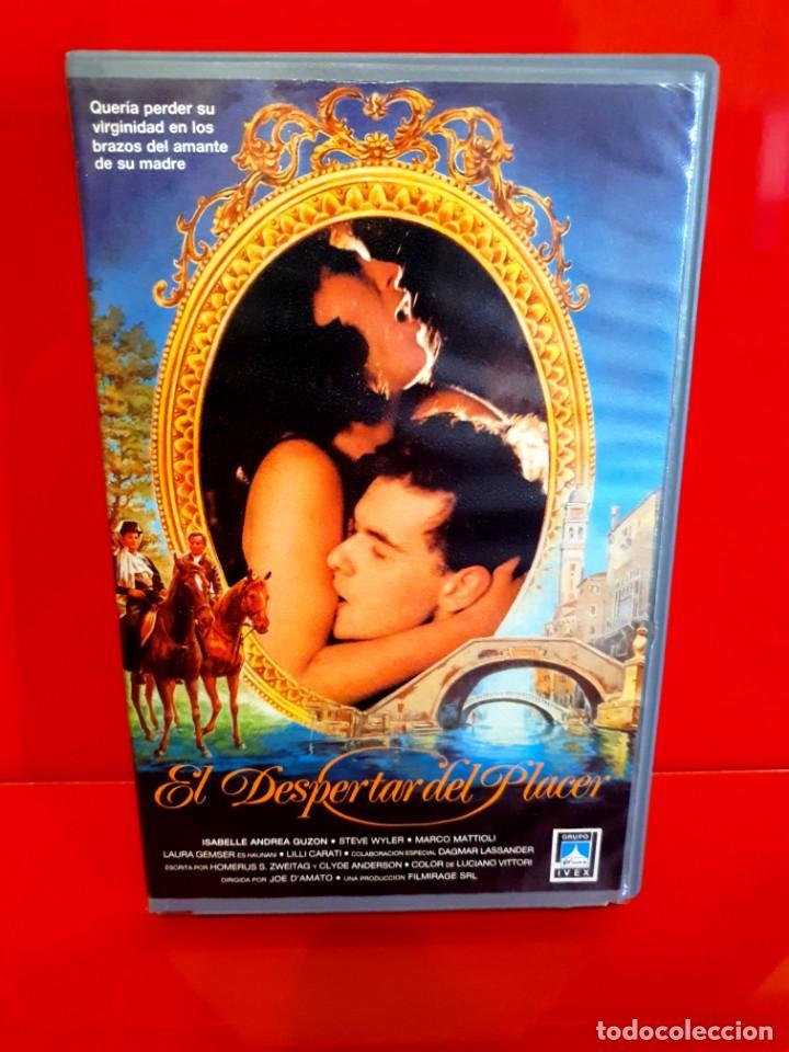 EL DESPERTAR DEL PLACER (1985) - IL PIACERE (Cine - Películas - VHS)