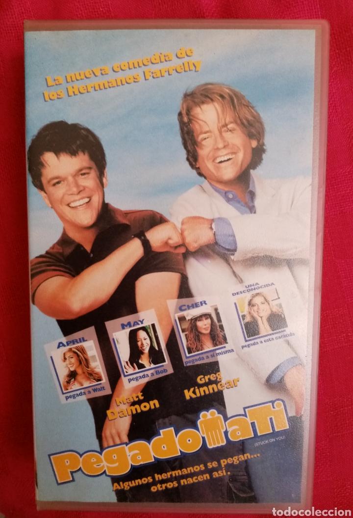 Cine: VHS Película 2003. Pegado a ti. Dirección Peter Farrelly y Bobby Farrelly. Comedia - Foto 2 - 213026598