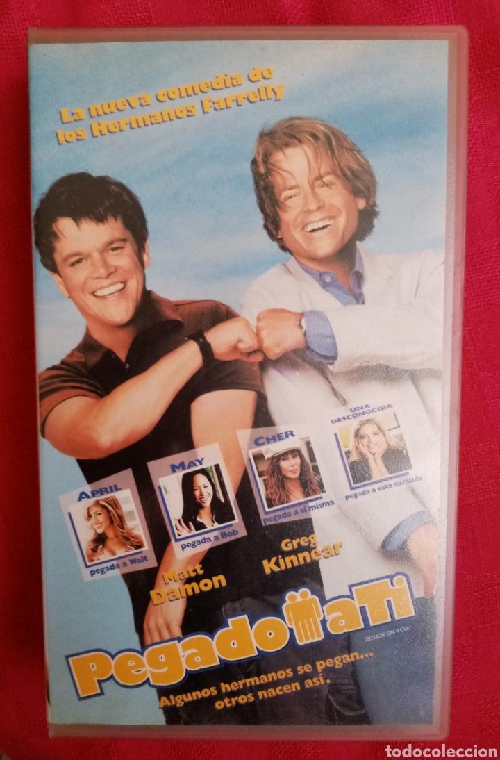 VHS PELÍCULA 2003. PEGADO A TI. DIRECCIÓN PETER FARRELLY Y BOBBY FARRELLY. COMEDIA (Cine - Películas - VHS)