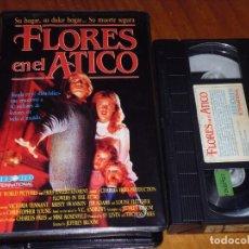 Cine: FLORES EN EL ATICO - JEFFREY BLOOM - VHS CAJA GRANDE. Lote 213274500