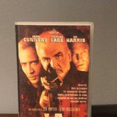 Cine: PELICULA VHS LA ROCA CON SEAN CONNERY /NICOLAS CAGE Y ED HARRIS. Lote 213363148