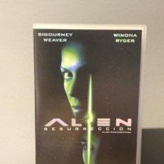 Cine: PELICULA VHS ALIEN RESURRECCIÓN CON SIGOURNEY WEAVER Y WINONA RYDER. Lote 213363813