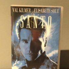 Cine: PELICULA VHS EL SANTO CON VALKILMER Y ELISABETH SHUE. Lote 213365056