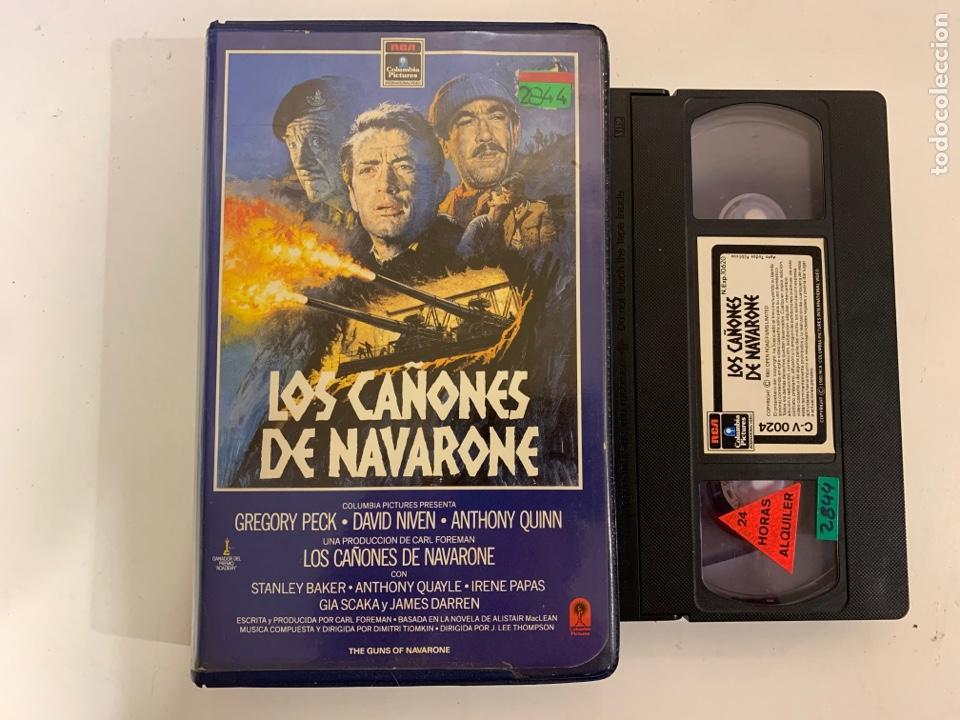LOS CAÑONES DE NAVARONE VHS (Cine - Películas - VHS)