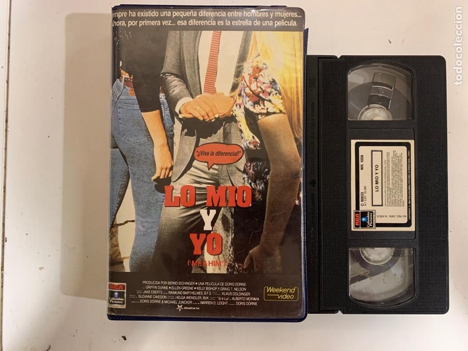 YO MÍO Y YO VHS (Cine - Películas - VHS)