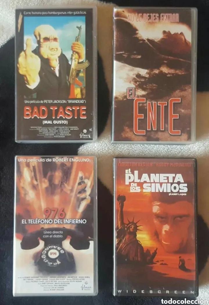 Cine: IMPRESIONANTE LOTE DE 32 PELICULAS VHS DE TERROR CIENCIA-FICCIÓN GORE - PRECIO CHOLLO PUJA!! - Foto 2 - 213444062