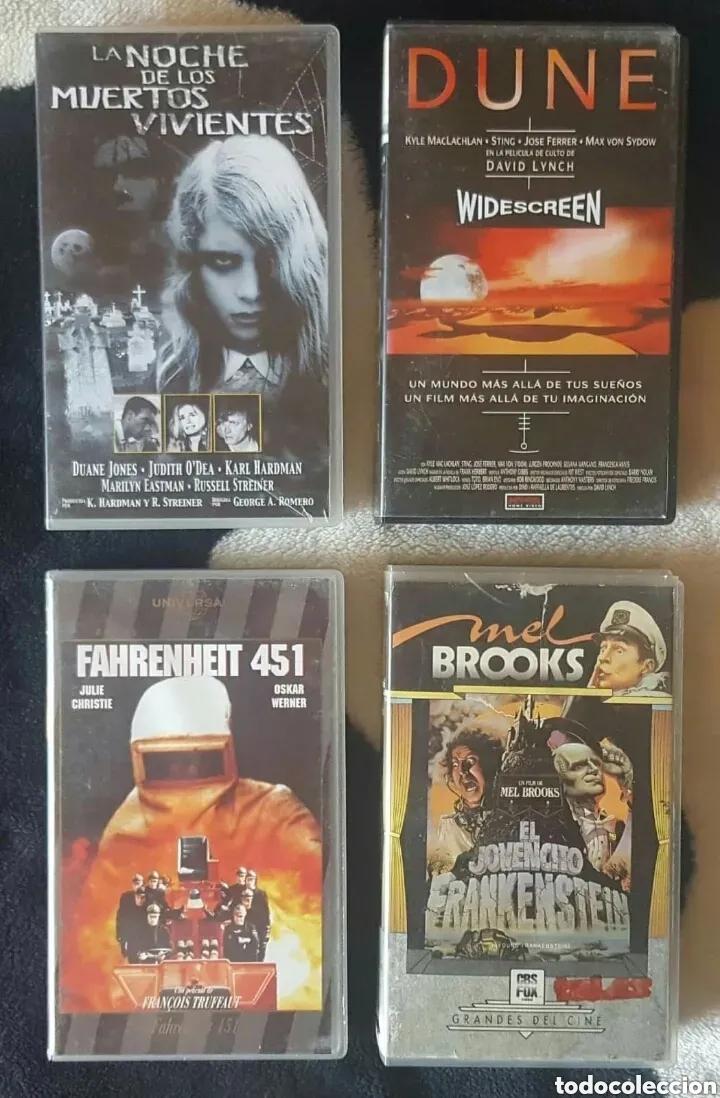 Cine: IMPRESIONANTE LOTE DE 32 PELICULAS VHS DE TERROR CIENCIA-FICCIÓN GORE - PRECIO CHOLLO PUJA!! - Foto 3 - 213444062