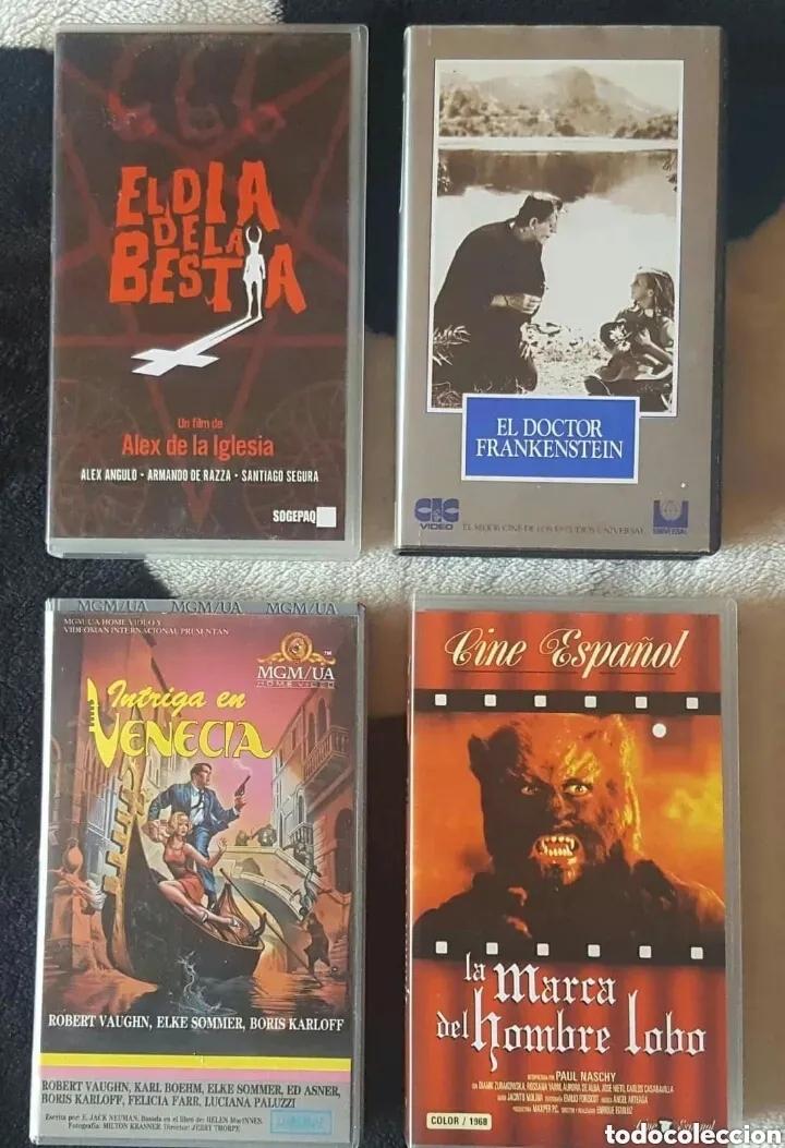 Cine: IMPRESIONANTE LOTE DE 32 PELICULAS VHS DE TERROR CIENCIA-FICCIÓN GORE - PRECIO CHOLLO PUJA!! - Foto 4 - 213444062