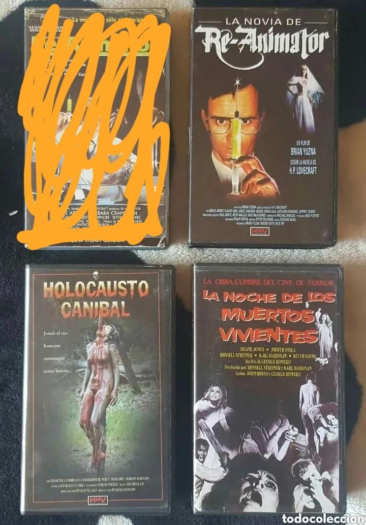 Cine: IMPRESIONANTE LOTE DE 32 PELICULAS VHS DE TERROR CIENCIA-FICCIÓN GORE - PRECIO CHOLLO PUJA!! - Foto 5 - 213444062