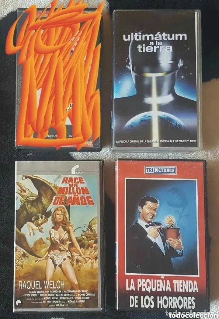 Cine: IMPRESIONANTE LOTE DE 32 PELICULAS VHS DE TERROR CIENCIA-FICCIÓN GORE - PRECIO CHOLLO PUJA!! - Foto 7 - 213444062
