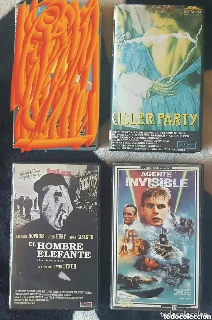 Cine: IMPRESIONANTE LOTE DE 32 PELICULAS VHS DE TERROR CIENCIA-FICCIÓN GORE - PRECIO CHOLLO PUJA!! - Foto 8 - 213444062