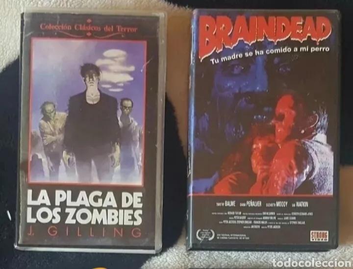 Cine: IMPRESIONANTE LOTE DE 32 PELICULAS VHS DE TERROR CIENCIA-FICCIÓN GORE - PRECIO CHOLLO PUJA!! - Foto 9 - 213444062